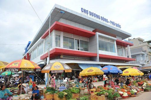 Chợ Đông Dương cũng là điểm du lịch dành cho du khách du lịch Phú Quốc