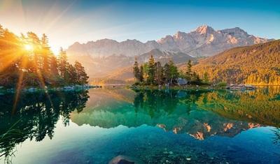 Hồ Eibsee nước Đức