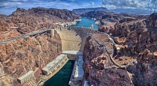 Đập thủy điện Hoover là kỳ quan lịch sử quốc gia
